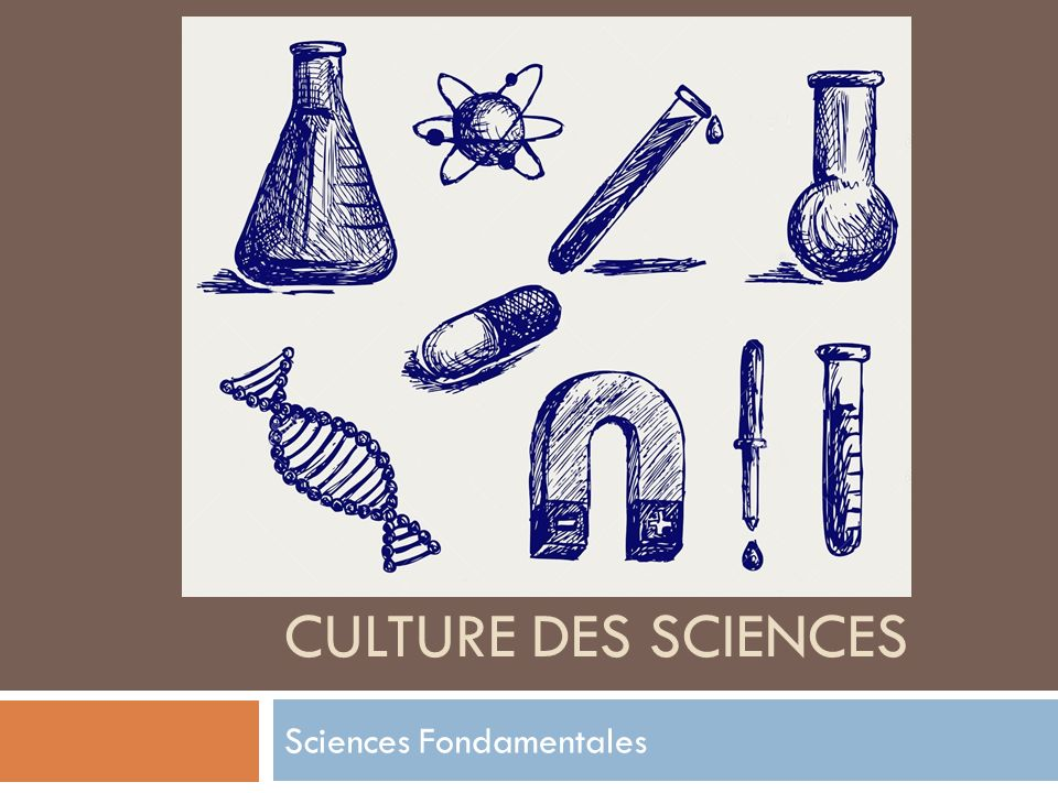 sciences fondamentales