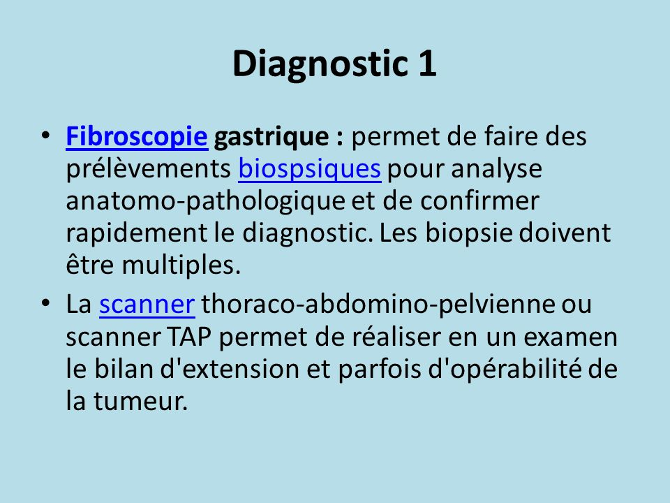 Diagnostic 1