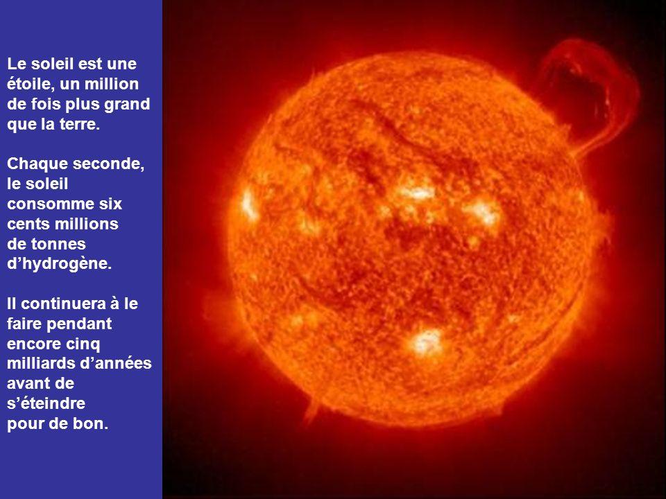 Le soleil est une étoile, un million
