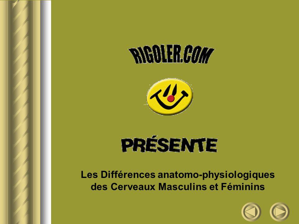 Les Différences anatomo-physiologiques