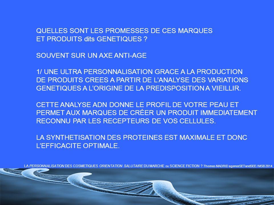 QUELLES SONT LES PROMESSES DE CES MARQUES