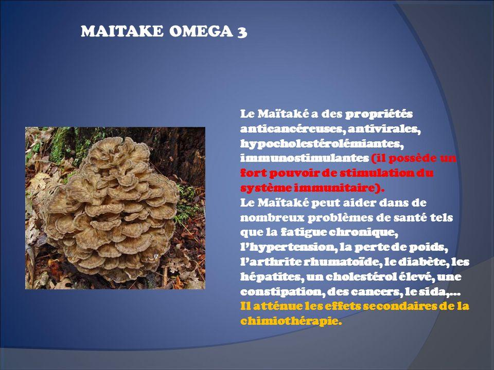 MAITAKE OMEGA 3