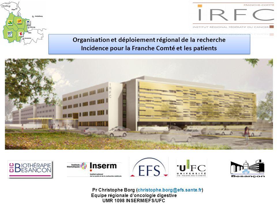 Organisation et déploiement régional de la recherche