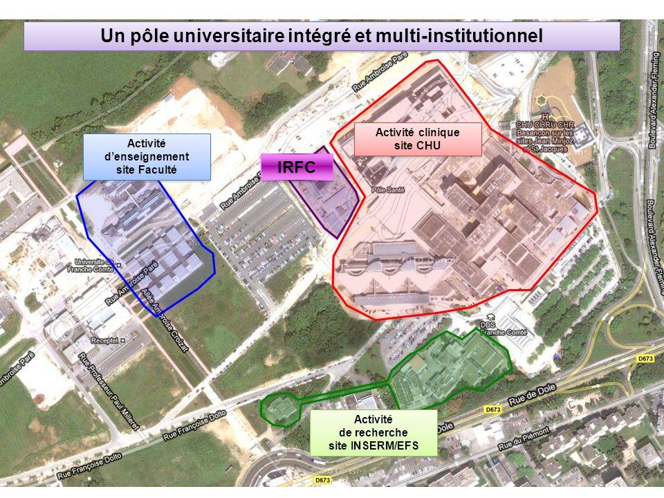Un pôle universitaire intégré et multi-institutionnel