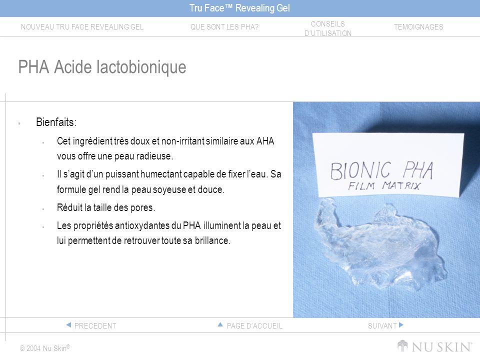 PHA Acide lactobionique
