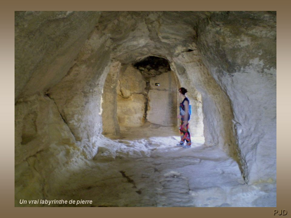 Un vrai labyrinthe de pierre