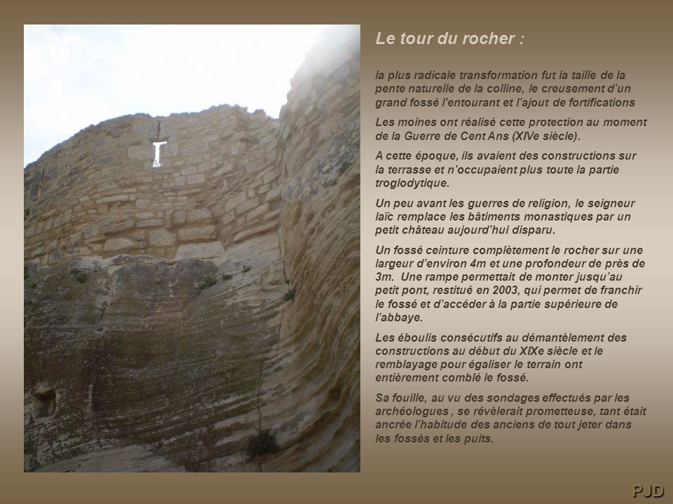 Le tour du rocher :
