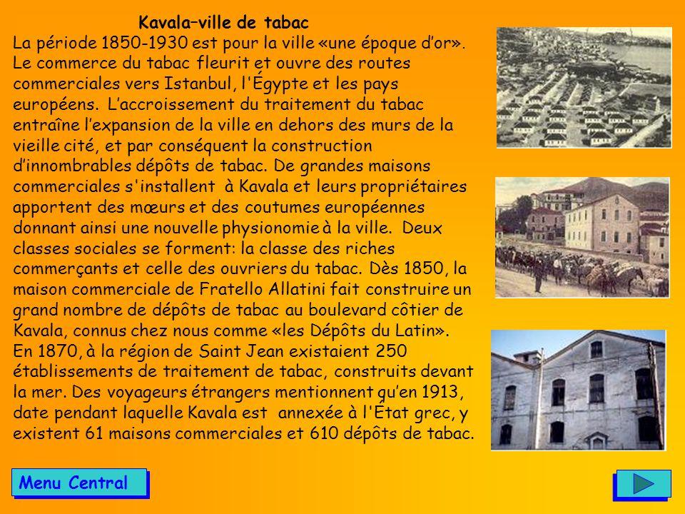 Kavala–ville de tabac