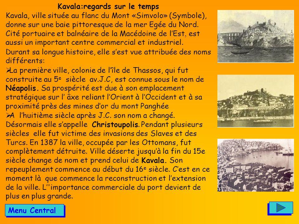 Kavala:regards sur le temps