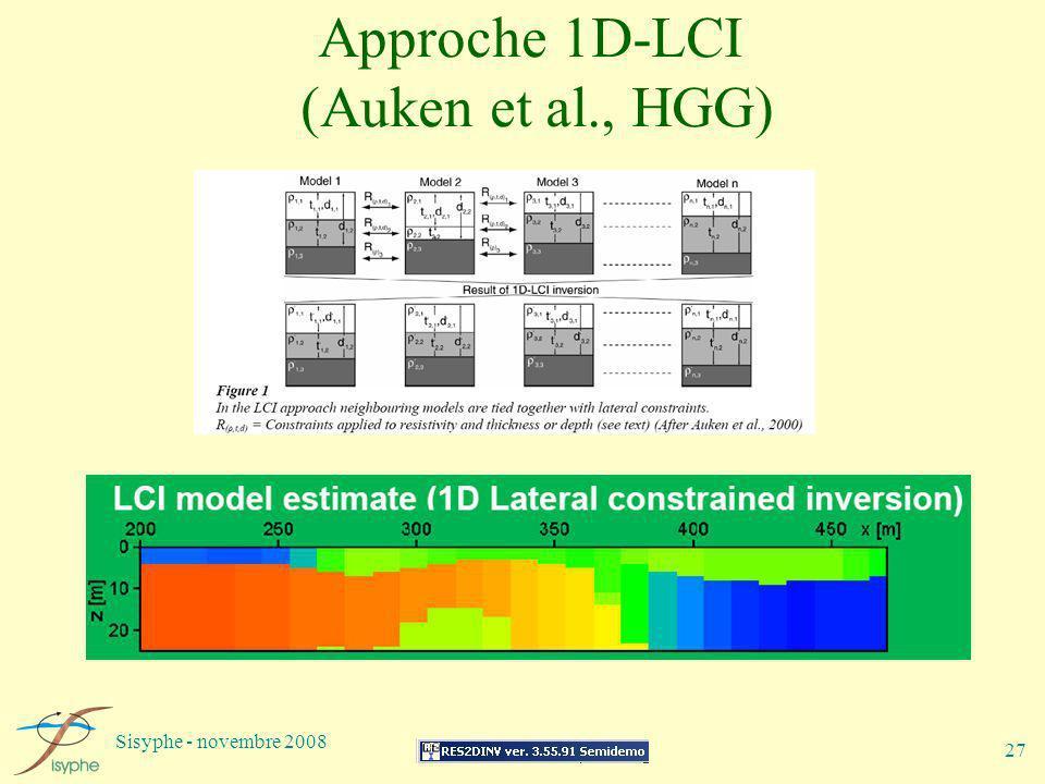 Approche 1D-LCI (Auken et al., HGG)