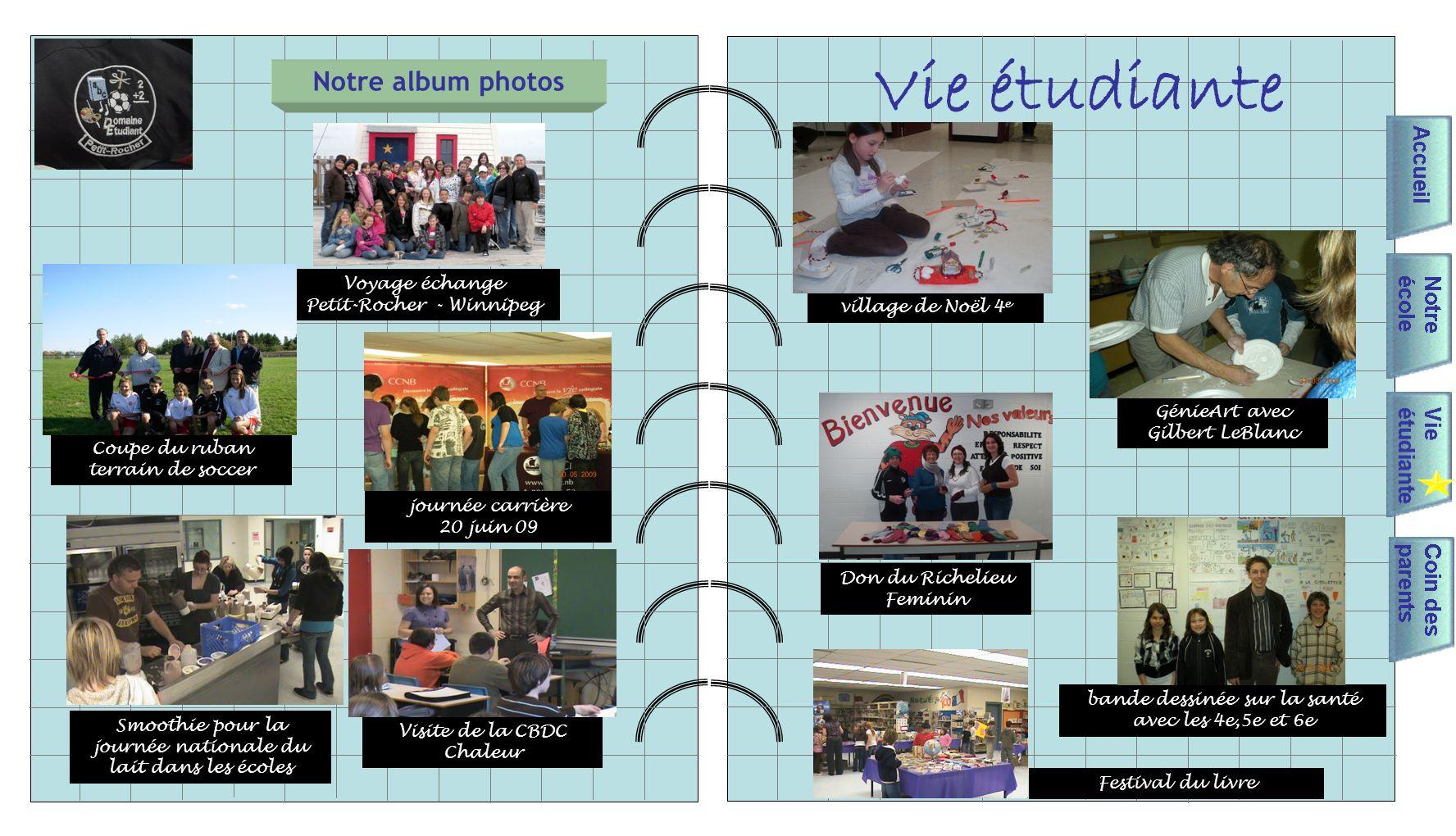 Vie étudiante Notre album photos