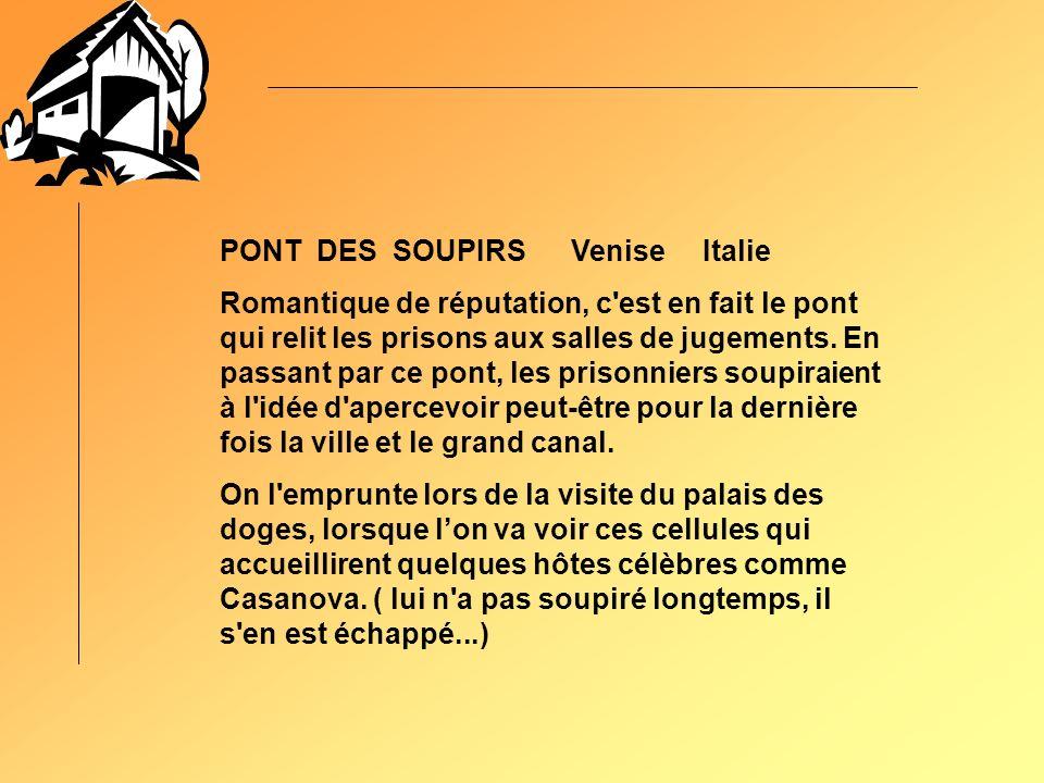 PONT DES SOUPIRS Venise Italie