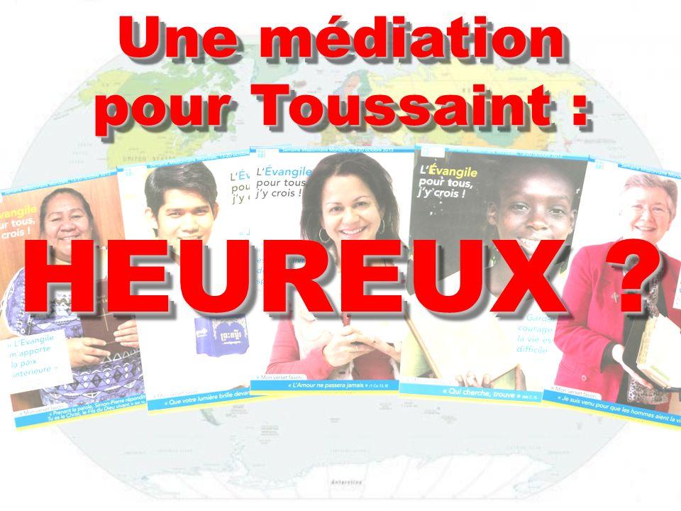 Une médiation pour Toussaint :