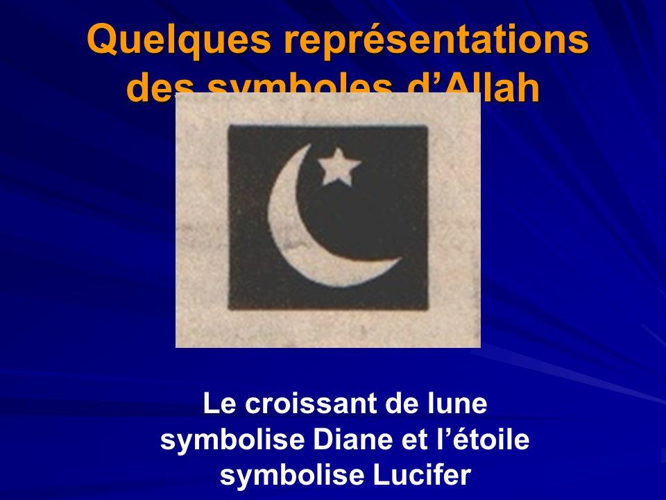 Quelques représentations des symboles d'Allah