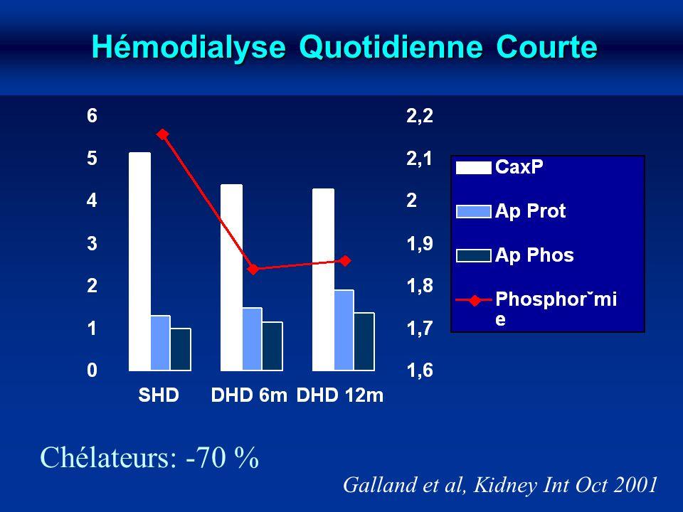 Hémodialyse Quotidienne Courte