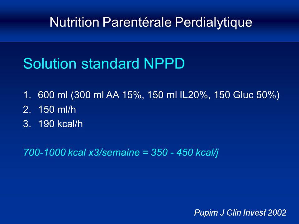 Nutrition Parentérale Perdialytique
