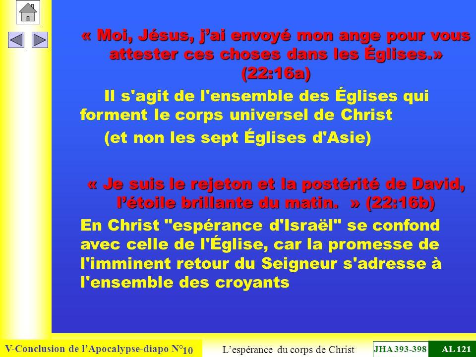 L'espérance du corps de Christ