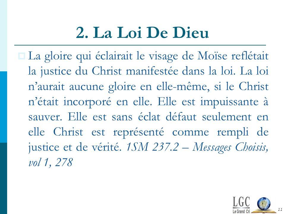2. La Loi De Dieu