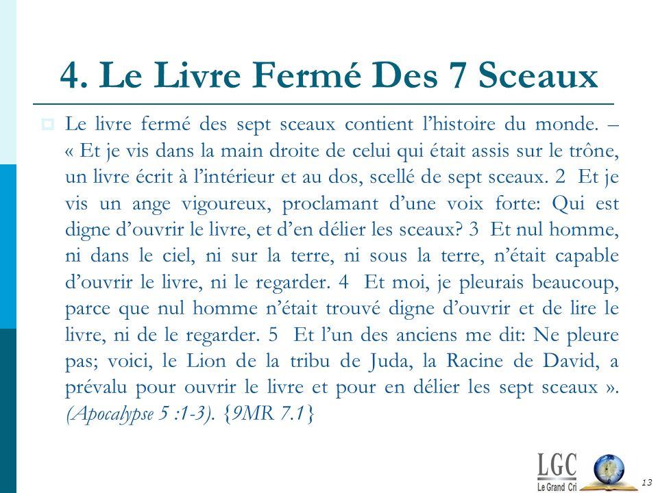 4. Le Livre Fermé Des 7 Sceaux