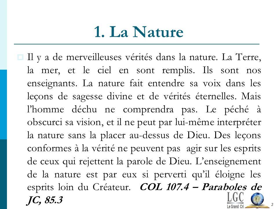 1. La Nature