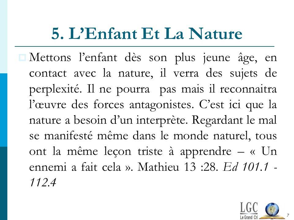 5. L'Enfant Et La Nature
