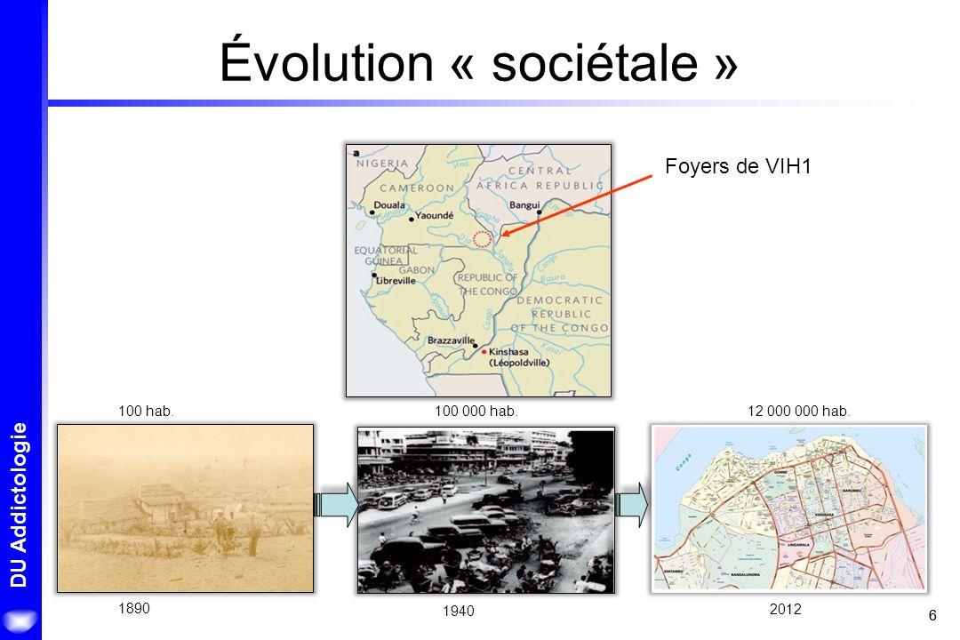 Évolution « sociétale »