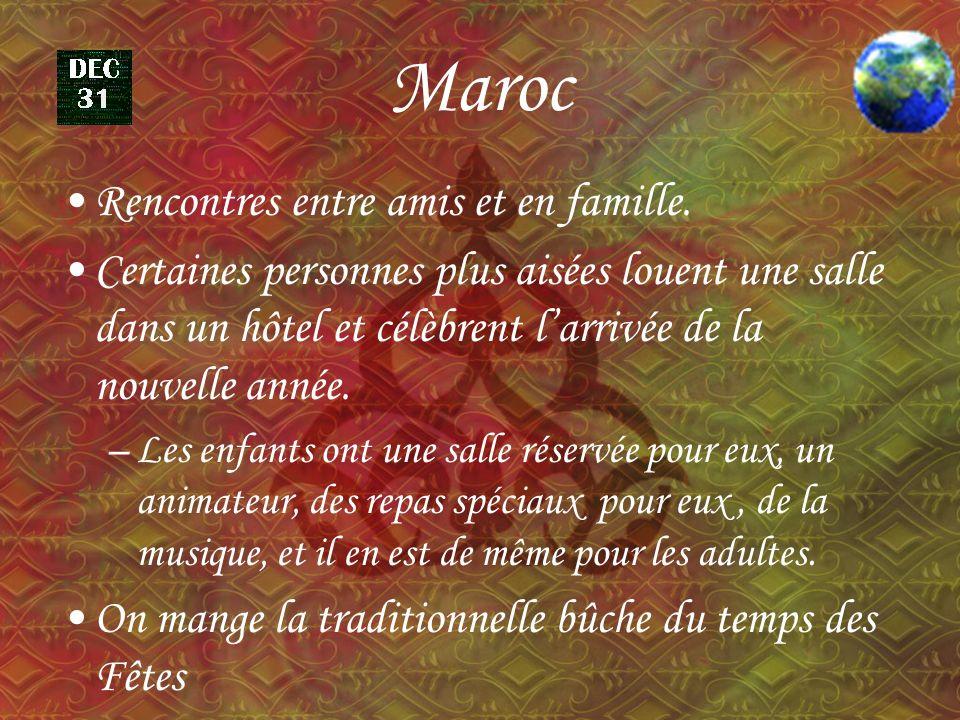 Maroc Rencontres entre amis et en famille.