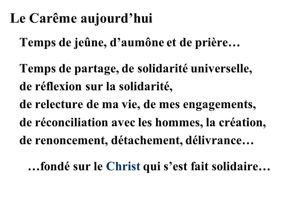 …fondé sur le Christ qui s'est fait solidaire…