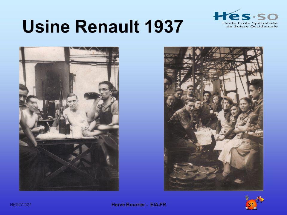 Usine Renault 1937