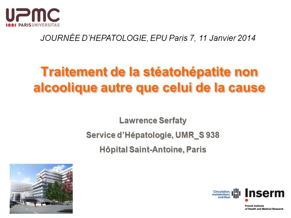 Service d'Hépatologie, UMR_S 938 Hôpital Saint-Antoine, Paris