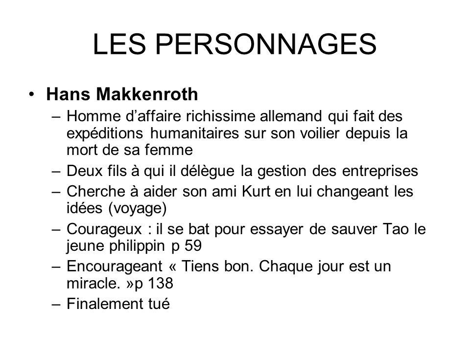 LES PERSONNAGES Hans Makkenroth