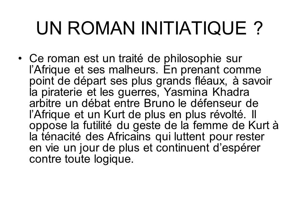 UN ROMAN INITIATIQUE