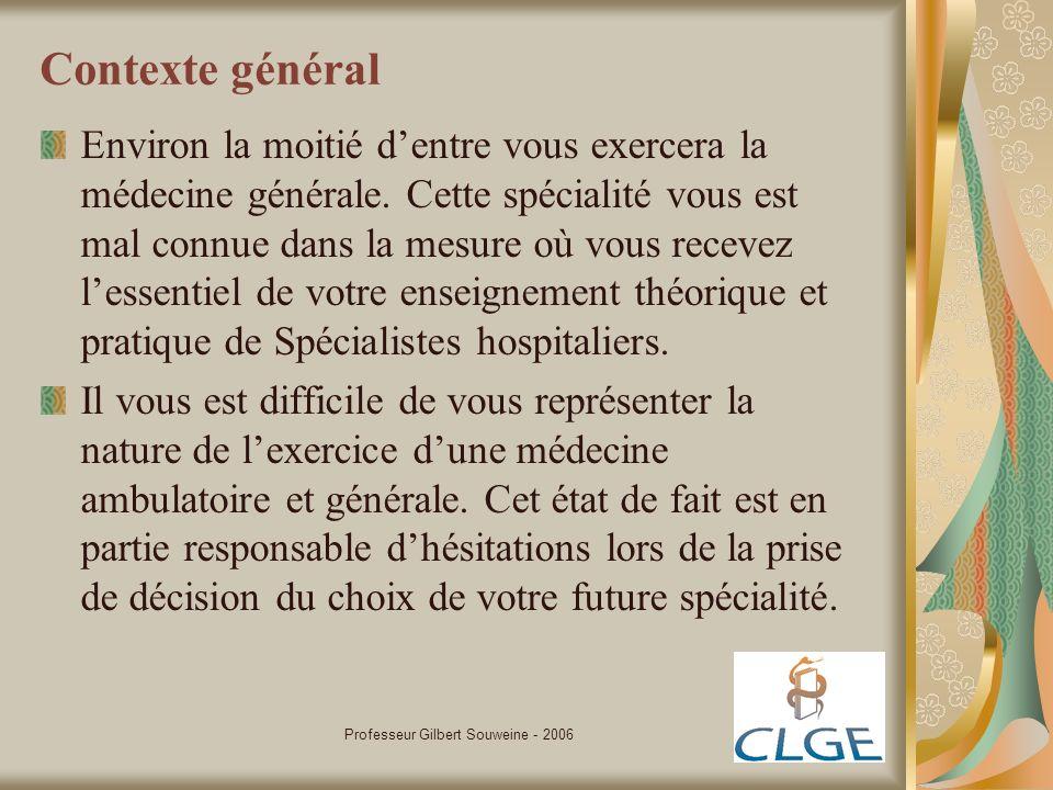 Professeur Gilbert Souweine - 2006