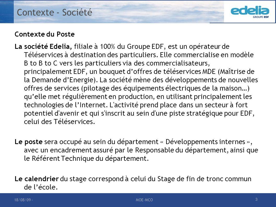 Contexte - Société