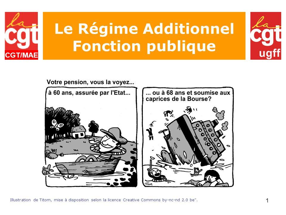 Le Régime Additionnel Fonction publique