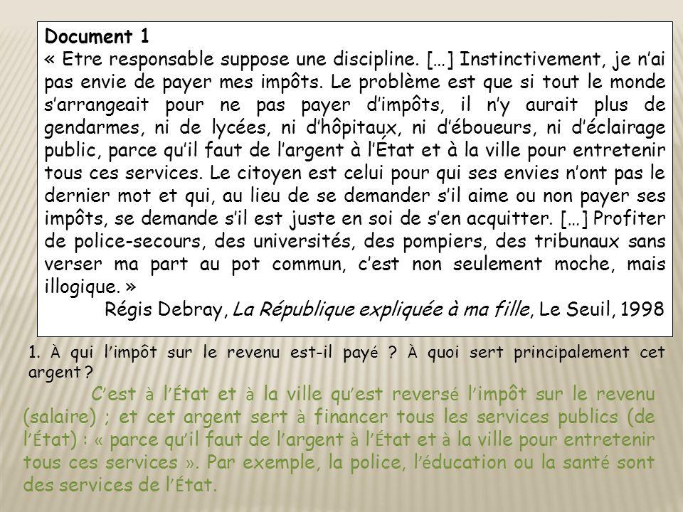 Régis Debray, La République expliquée à ma fille, Le Seuil, 1998