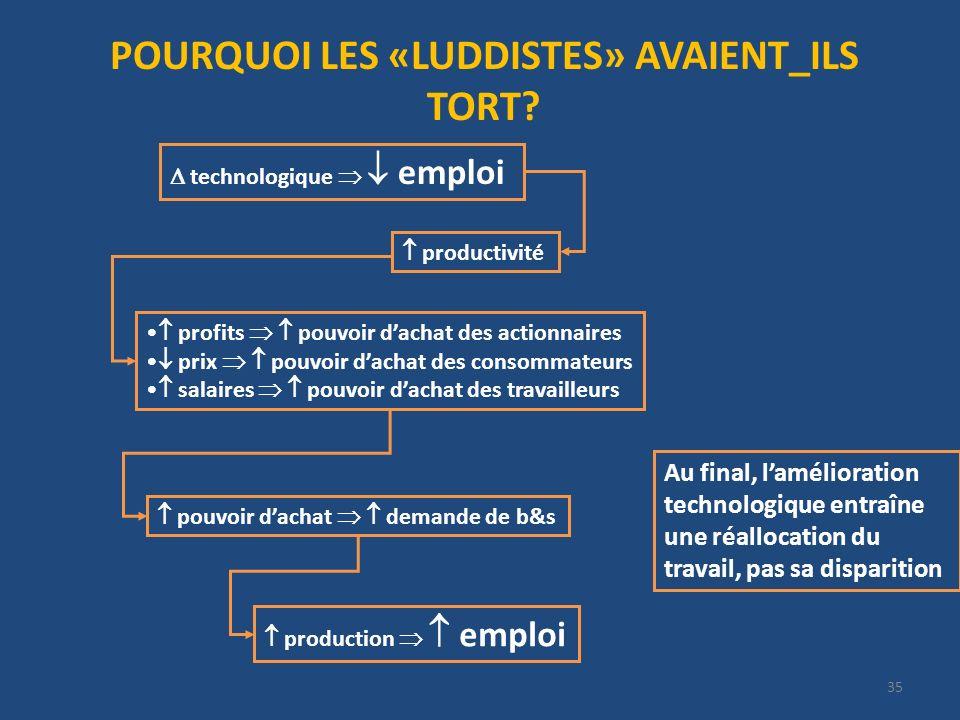 POURQUOI LES «LUDDISTES» AVAIENT_ILS TORT
