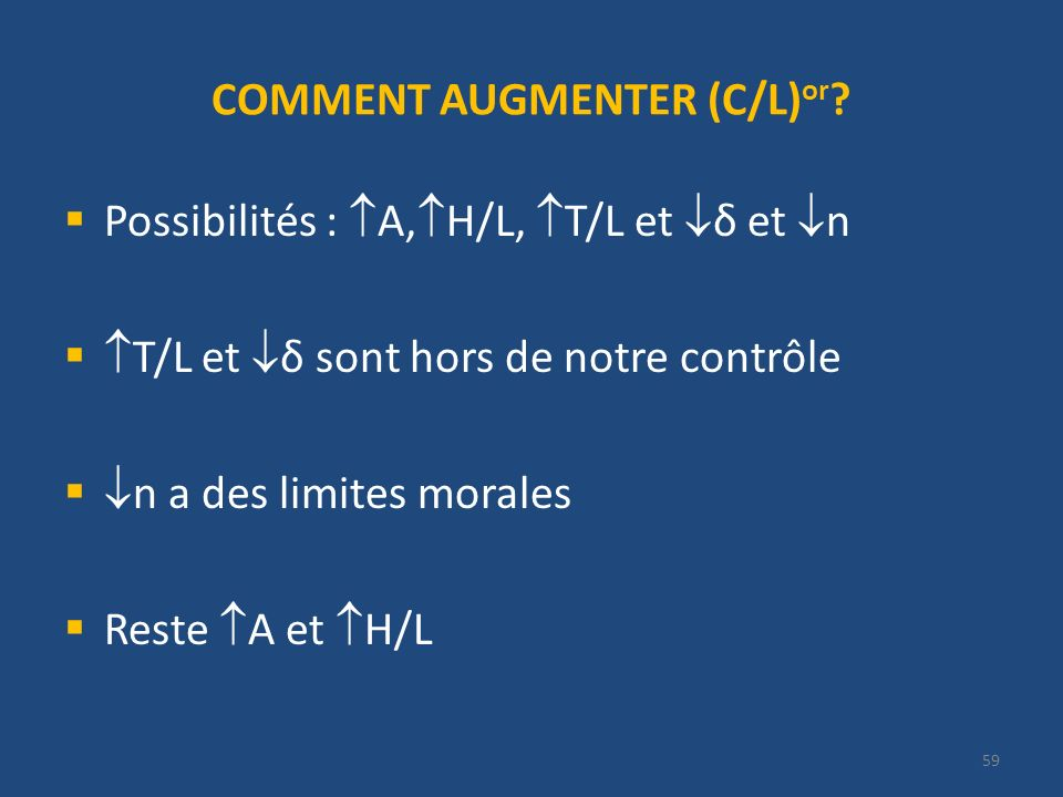 COMMENT AUGMENTER (C/L)or