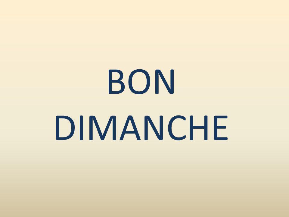 BON DIMANCHE