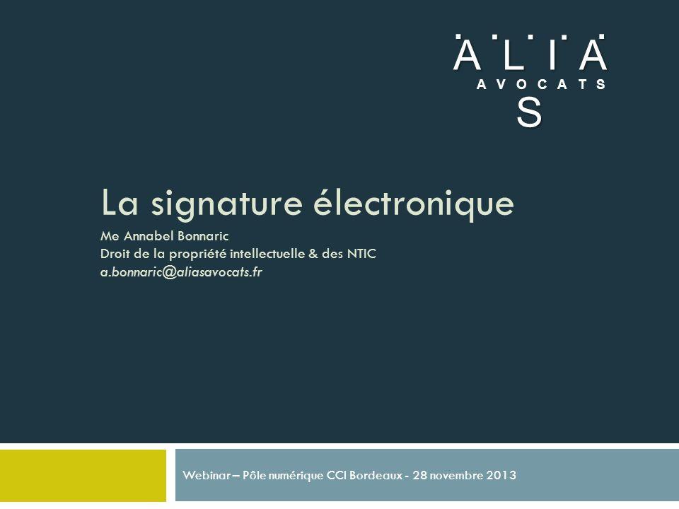 Webinar – Pôle numérique CCI Bordeaux - 28 novembre 2013