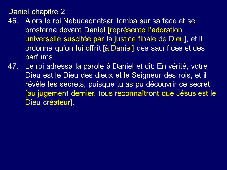 Daniel chapitre 2