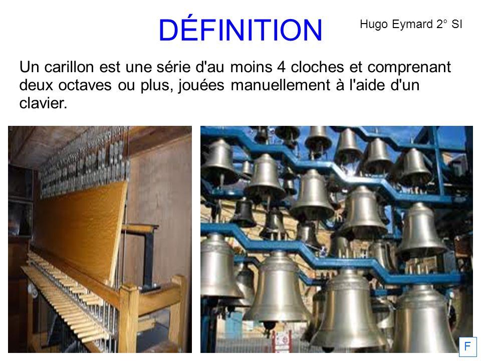 DÉFINITION Hugo Eymard 2° SI.