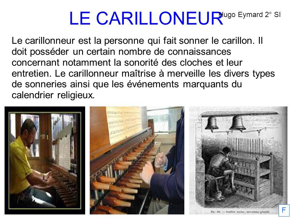 LE CARILLONEUR Hugo Eymard 2° SI.