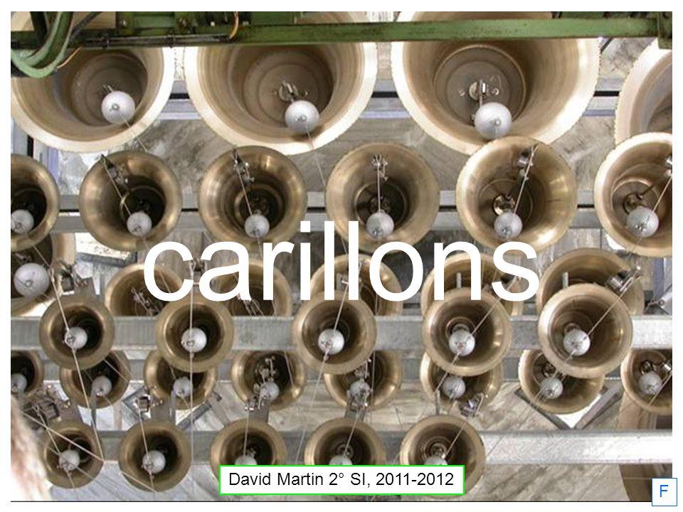 carillons David Martin 2° SI, 2011-2012 F