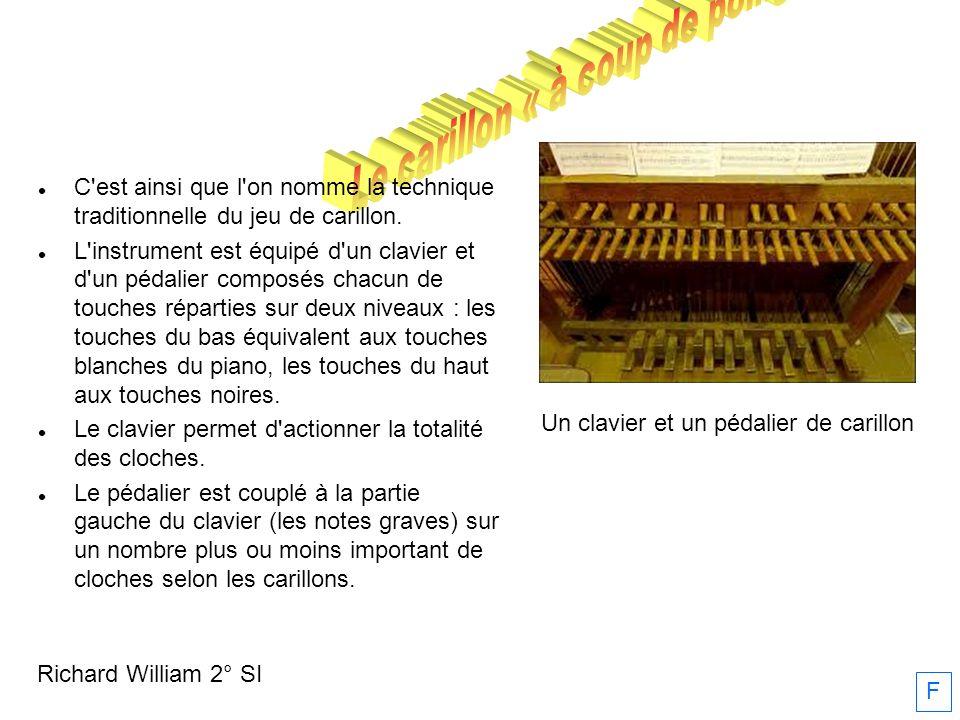 Le carillon « à coup de poing »