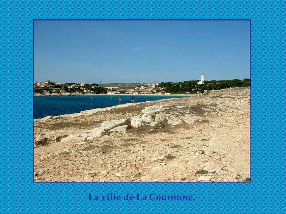 La ville de La Couronne.