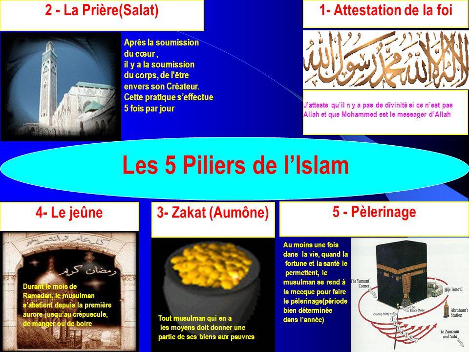 Les 5 Piliers de l'Islam 2 - La Prière(Salat) 1- Attestation de la foi