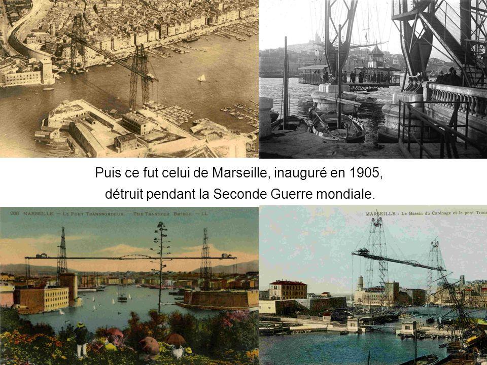 Puis ce fut celui de Marseille, inauguré en 1905,
