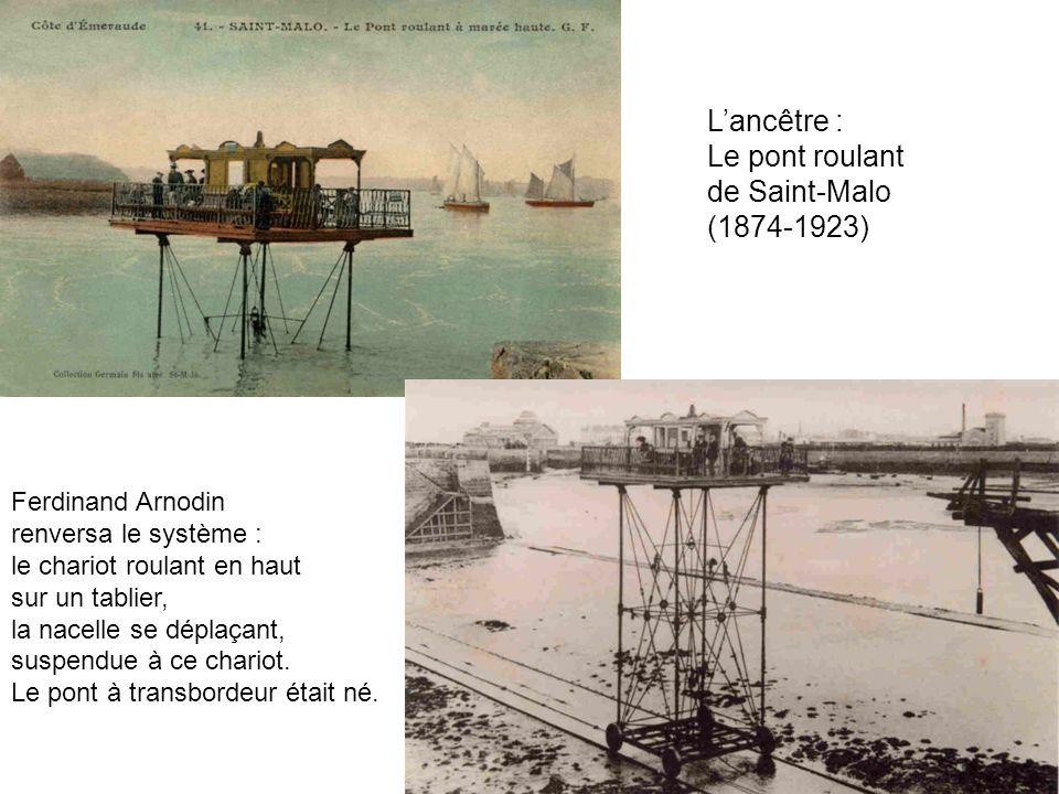 L'ancêtre : Le pont roulant de Saint-Malo (1874-1923)