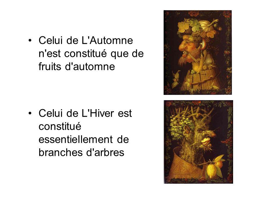 Celui de L Automne n est constitué que de fruits d automne